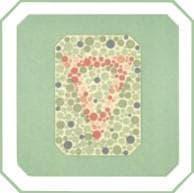 проверка зрения на цветовосприятие по тесту на дальтонизм. Картинка 4