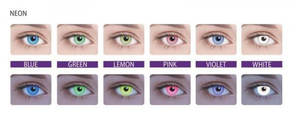 Выбрать цветные линзы с диоптриями