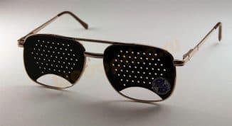 Очки с дырочками для улучшения зрения: перфорационные для коррекции, восстановления, отзывы