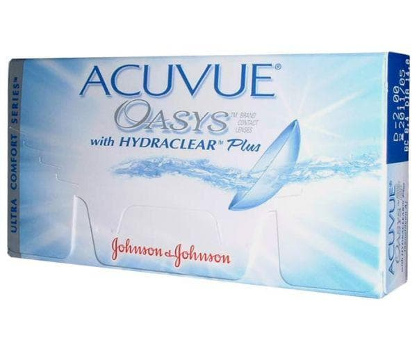 Контактные линзы Acuvue Oasys (6 линз)