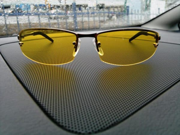очки для вождения полуободковые