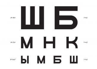 зрение 1 что это значит