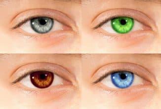 линзы, изменяющие цвет глаз