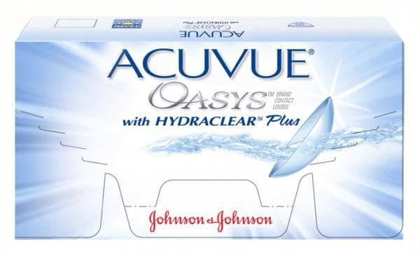 Acuvue Oasys от Johnson & Johnson
