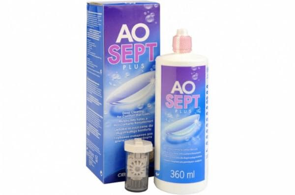 Ciba р-р Aosept plus 360 ml