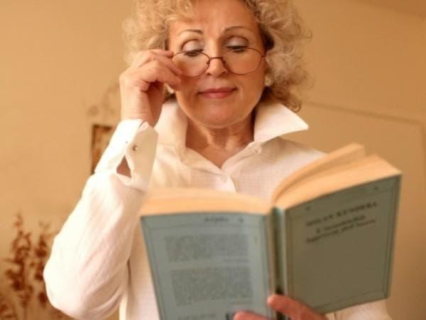 Устранение возрастной пресбиопии очковым методом