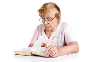 Пресбиопия в старческом возрасте