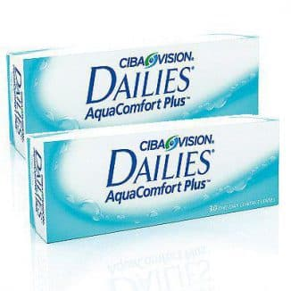 Контактные линзы - Alcon Dailies AquaComfort Plus 2