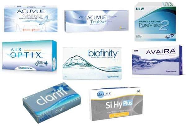 выбор мягких контактных линз