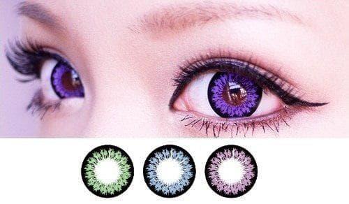 Косметические линзы для глаз