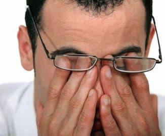 Переутомление глаз
