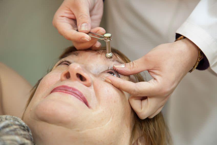 Какое нормальное глазное давление при глаукоме?
