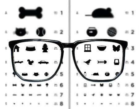 Причины и виды нарушения зрения
