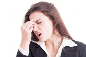 головная боль давит на глаза