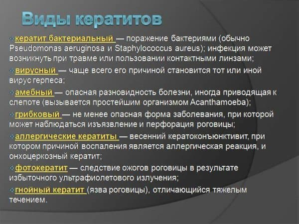 vidy-keratitov