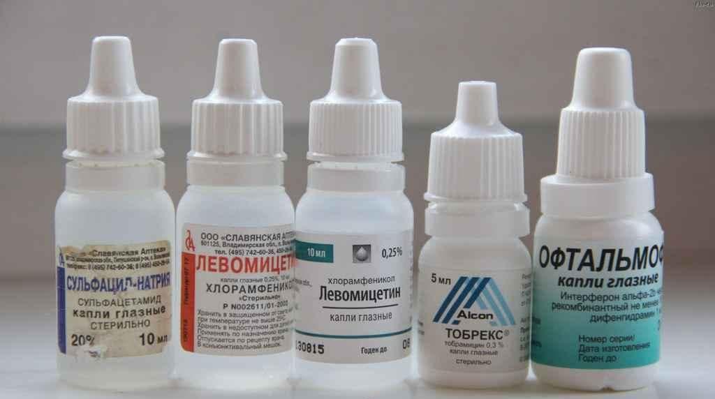 Капли глазные – список: гормональные, противогрибковые, комбинированные