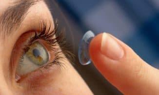 увлажняющие капли для глаз при ношении линз
