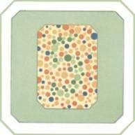 проверка зрения на цветовосприятие по тесту на дальтонизм. Картинка 8
