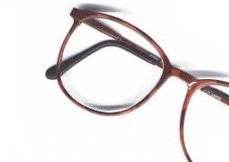 Очки с пластиковой оправой