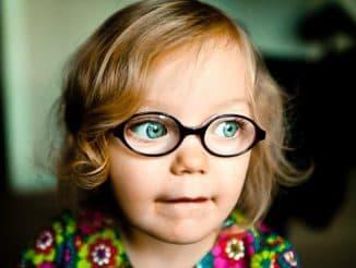 Ношение очков в дошкольном возрасте