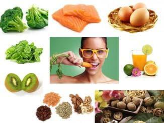 в каких продуктах содержатся витамины для глаз