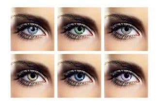 как выбрать цветные линзы для глаз