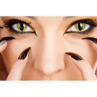 линзы кошачий глаз