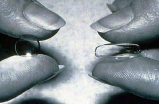 Жесткие и мягкие контактные линзы