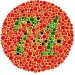 тест на цветовую слепоту