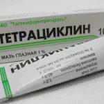 Инструкция по применению глазной мази Тетрациклин