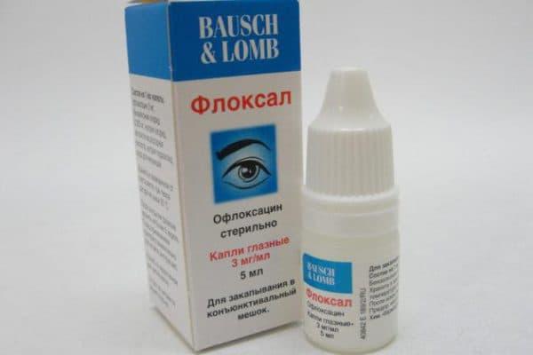 Флоксал применяют при лечении ячменя